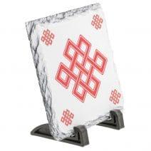 Placa ( placheta ) cu nod mistic pe piatra-5760