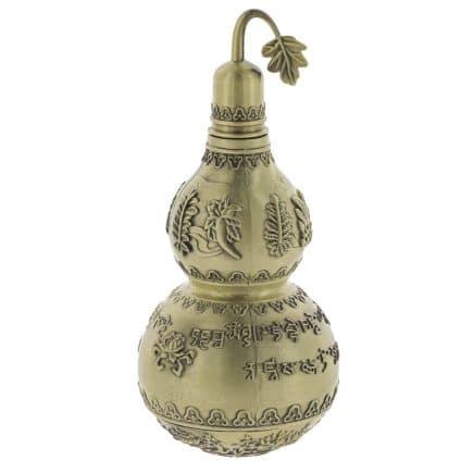 Wu lou din bronz cu mantre de protectie-5862