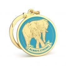 Amuleta ALWAYS STRONG - elefantul puternic-0