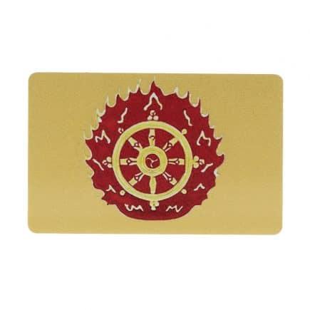 Card de protectie cu cei trei gardieni celesti, cei trei lei sau cei trei gardieni divini-5972