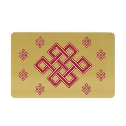 Card de protectie Dragon Rosu cu bila de foc, impotriva conflictelor si nodul mistic-6025