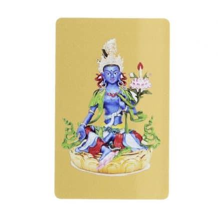 Card pentru protectie cu Tara Albastra GAU importiva obstacolelor, bolii, razboiului, magiei negre si sufletelor rele.-0
