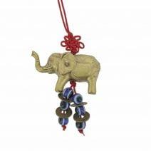 Amuleta cu elefant si ochi protectori-0