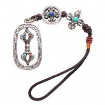 Amuleta cu Dubla dorje , simbolul puterii