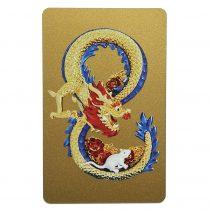 Card feng shui cu Dragon si Sobolan, Mangusta in forma de cifra 8 si nodul mistic