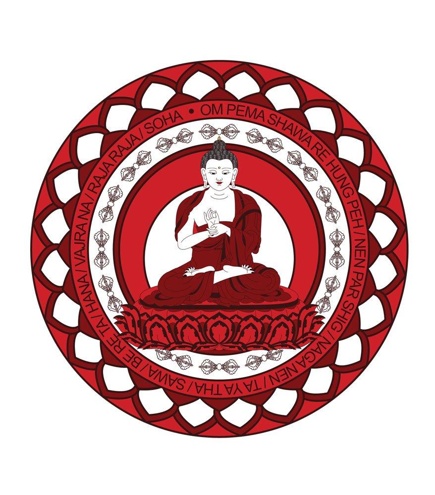 Abtibild Buddha Vairocana