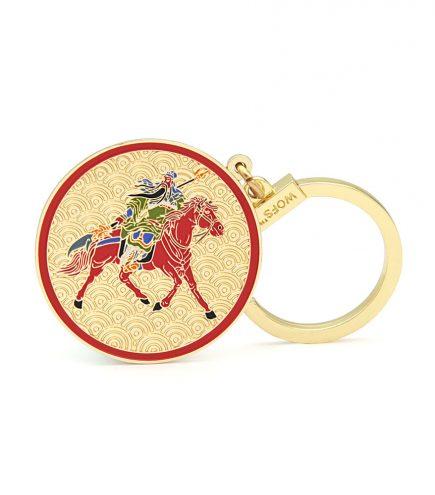 Amuleta cu Kuan Kung impotriva tradarii fata