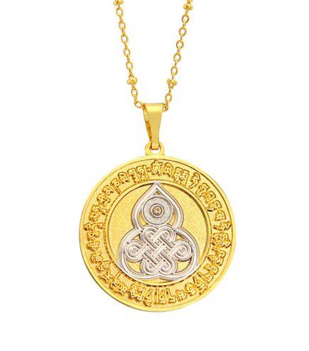 Amuleta cu Wu Lou si mantra de sanatate