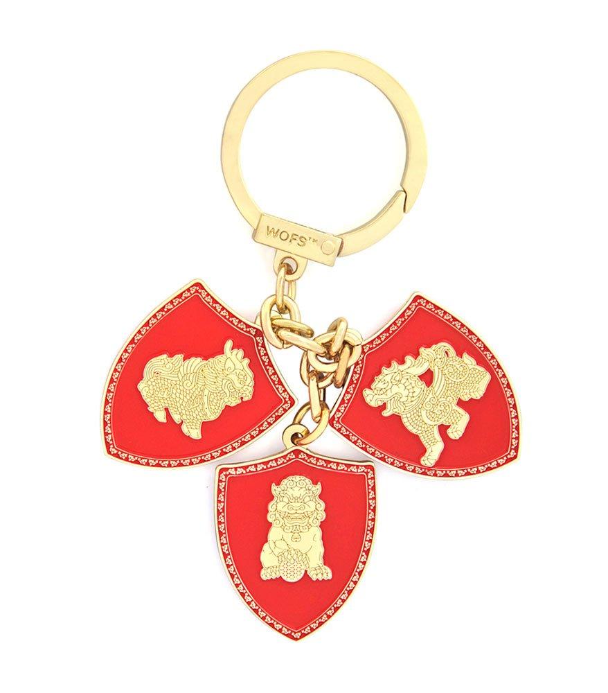 Amuleta cu cei trei gardieni celesti
