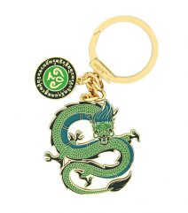 Amuleta cu Dragonul Verde fata