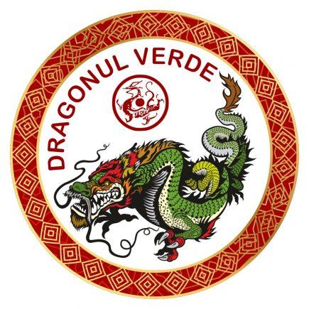 Abtibild cu Dragonul Verde - cele 4 animale celeste