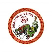 Abtibild cu Dragonul Verde - cele 4 animale celeste mic