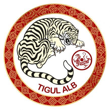 Abtibild cu Tigrul Alb - cele 4 animale celeste