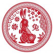 Abtibild feng shui cu zodia iepure mare