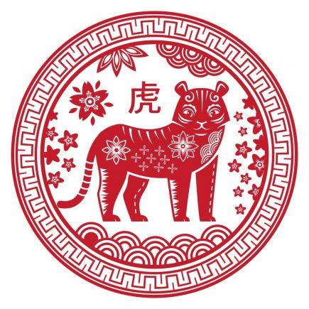Abtibild feng shui cu zodia tigru mare