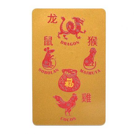 Card Crucea de Pamant pentru zodia Dragon