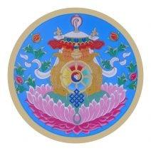 abtibild cu cele 8 simboluri tibetane v1 - mic