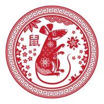 autocolant stiker feng shui cu zodia sobolan mare