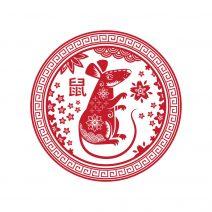 Abtibild autocolant stiker feng shui cu zodia sobolan mic