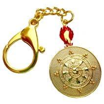 Amuleta cu Roata Dharmei (Dharmachakra, roata legii) (1)