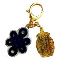 Amuleta cu vasul abundentei si nod mistic