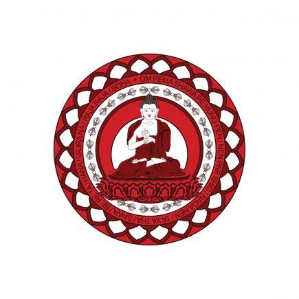 7085 Abtibild cu Buddha Vairocana - mic