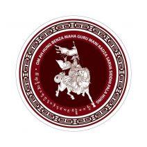 8075 Abtibild cu Regele Gesar din Ling - pentru depasirea obstacolelor - mic