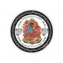 8077 Abtibild pentru protectia casei cu Dorje Drolo - mic