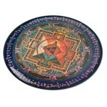 8016 Abtibild stiker 3D cu Mandala Hayagriva