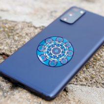 8103 Abtibild stiker 3D impotriva jafurilor si a violentei de toate felurile telefon